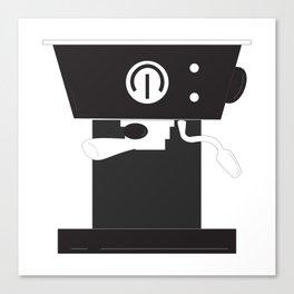 Caffeine Please Canvas Print