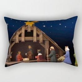 Holiday Christmas The Three Wise Men Night Star Do Rectangular Pillow