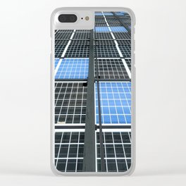 Solar Panel Wall Clear iPhone Case