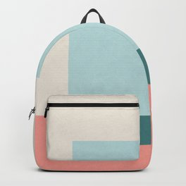 Blue Square Backpack
