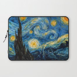 A Starry Night at Hogwarts Laptop Sleeve