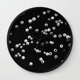 Crystal Stones #2 #shiny #decor #art #society6 Wall Clock