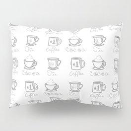 Hot Drinks Pillow Sham