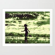 Minty-Fresh Tingles Art Print