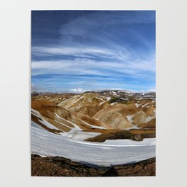 Landmannalaugar, Iceland Poster
