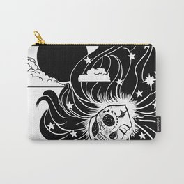 Gemini Skull Carry-All Pouch