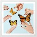 Social Butterflies by juliawalck