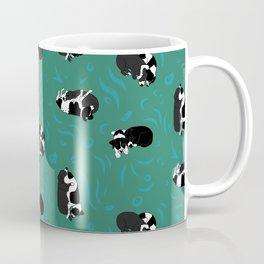 Stella & Millie cuddles GREEN Coffee Mug