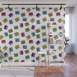 colorful bobbins Wall Mural