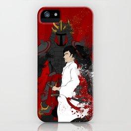 Samurai Warrior iPhone Case