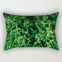 Botanical Gardens - Evergreen #939 Rectangular Pillow
