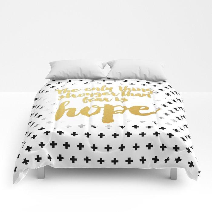 Hope Trumps Fear Comforters
