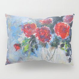 Roses in Rouge Pillow Sham
