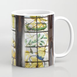 Holy Trinity Old Church, Stained Glass Window, Wentworth, Rotherham Coffee Mug