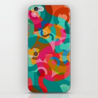 picasso iPhone & iPod Skins featuring Pattern Picasso by Tony Vazquez