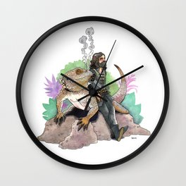 King Richard & Tad Cooper Wall Clock