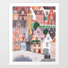 Brugge  Art Print