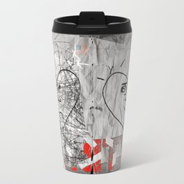 """A page from """"The Book of Unity"""". Travel Mug"""