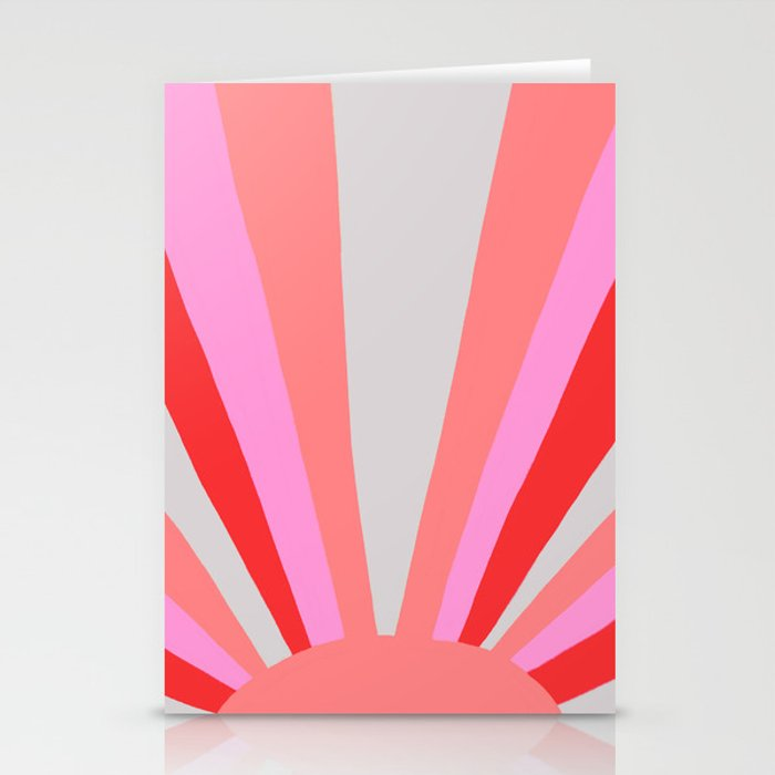 sunshine state, coral Stationery Cards