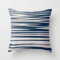 tchmo Throw Pillows featuring Untitled 20141114d by tchmo