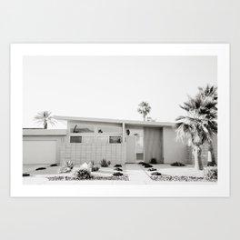 Palm Springs III Art Print