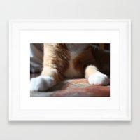 tigger Framed Art Prints featuring Tigger by Erin Stevens