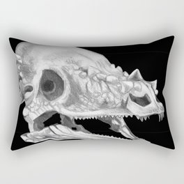 Pachycephalosaurus skull Rectangular Pillow