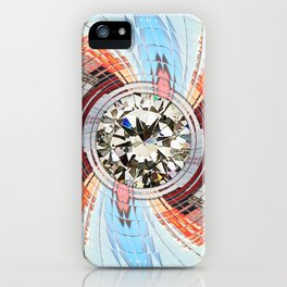The Diamond in your life iPhone Case