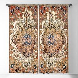 Ferahan Arak  Antique West Persian Rug Print Blackout Curtain