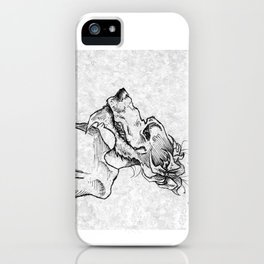 Hows my hair? iPhone Case