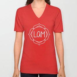 Lam—Root Chakra Mantra Unisex V-Neck
