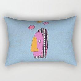 Le siffleur Rectangular Pillow