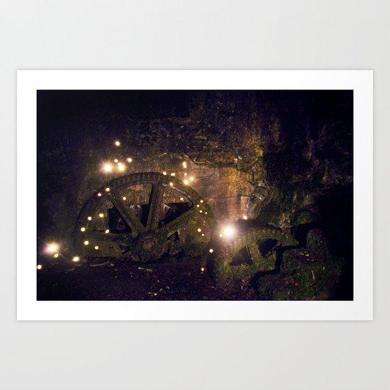 Firefly Inside Art Print
