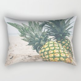 Tropical Summer Pineapples Rectangular Pillow