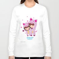 suits Long Sleeve T-shirts featuring Piggy-Suits by I love Bubbah