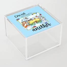 One Cat Just Leads to Another Acrylic Box