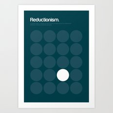 Reductionism Art Print