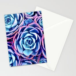 Bright Succulent Garden Stationery Cards