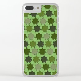Geometrix 162 Clear iPhone Case
