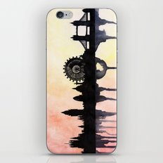London Watercolour Skyline iPhone & iPod Skin