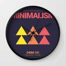 MINIMALISM #5 Wall Clock