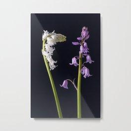 Pinkbells, Whitebells Metal Print