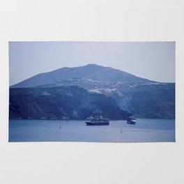Santorini, Greece 8 Rug