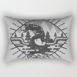 Monster Oil Rectangular Pillow