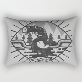 Monster Oil Rectangular Pillow