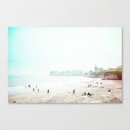 Sunday Morning Surf Canvas Print