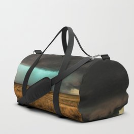 Jewel of the Plains - Storm in Texas Duffle Bag