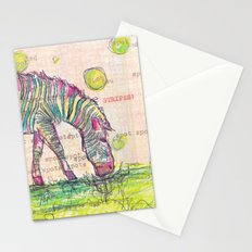 Zebra Stripes Stationery Cards