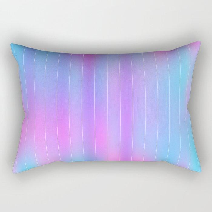 Retro Pink Rectangular Pillow