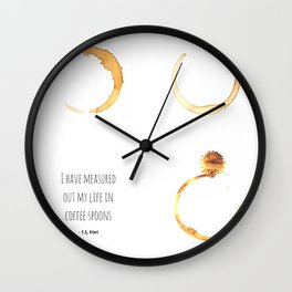 Poetry and a Cuppa Wall Clock